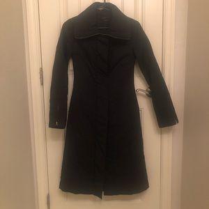 Bcbg maxazria long jacket coat black XXS puffer